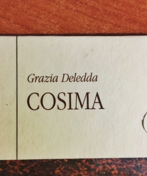 """""""Cosima"""" di GraziaDeledda"""